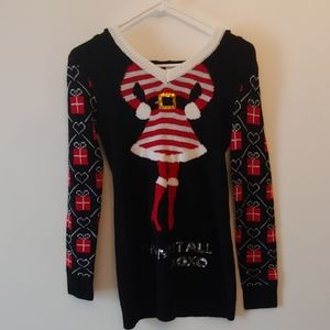 4/$25 I Want It All Sequin Ugly Christmas Sweater